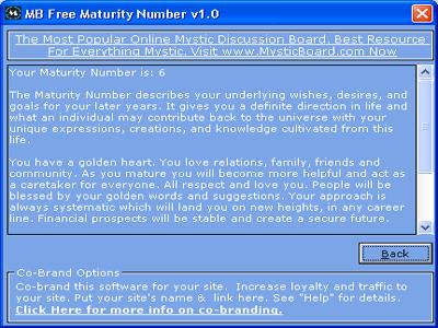 Vorschau MB Maturity Number - Bild 1