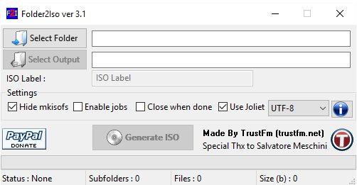 Vorschau Folder2Iso - Bild 1