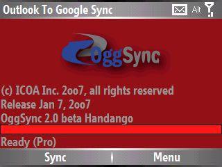 Vorschau OggSync Freeware - Bild 1
