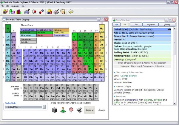 Vorschau Periodic Table Explorer - Bild 1