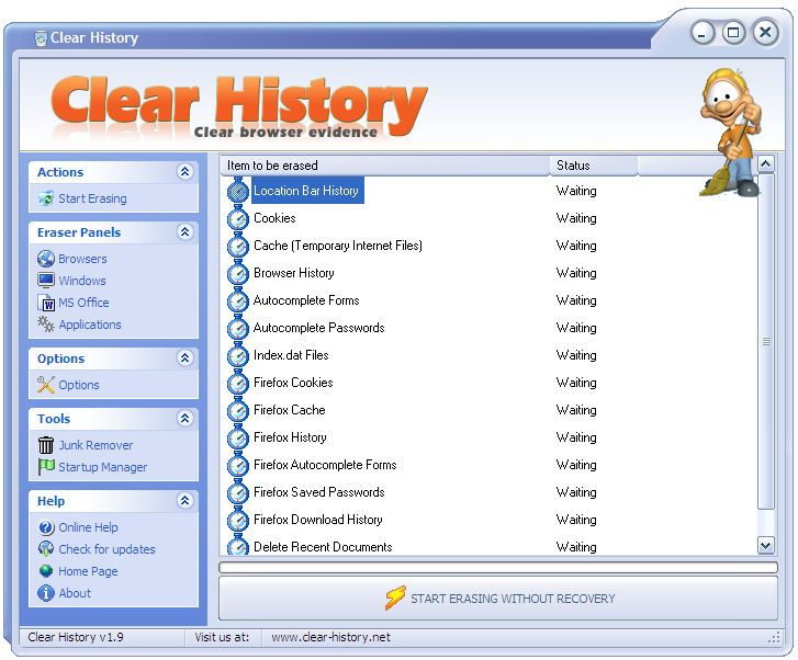 Vorschau Clear History - Bild 1