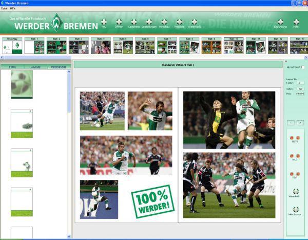 Vorschau Werder Fotobuch Editor - Bild 1
