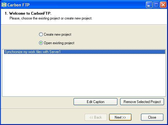 Vorschau CarbonFTP - Bild 1