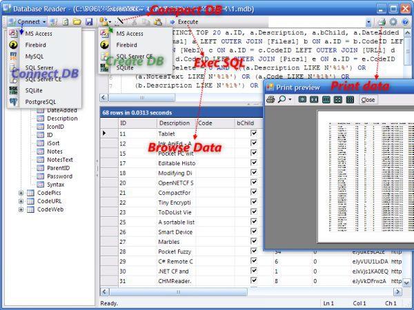Vorschau Database .NET - Bild 1