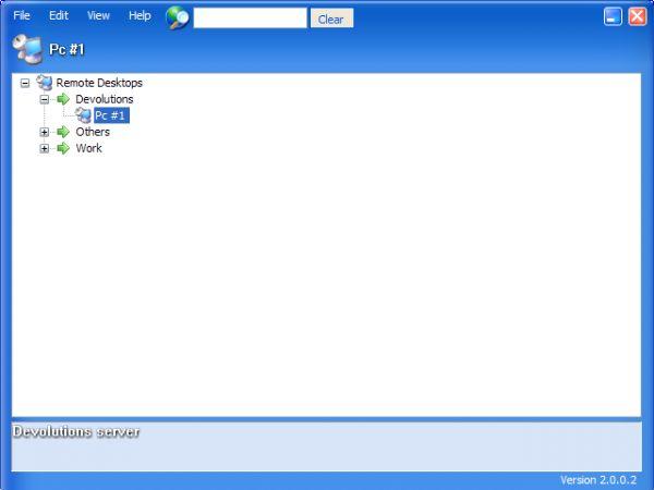 Vorschau Remote Desktop Manager - Bild 1