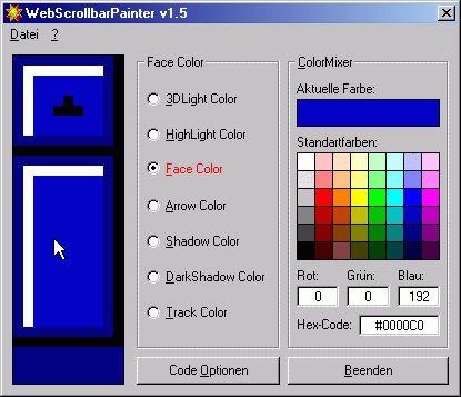 Vorschau WebScrollbarPainter 1.5 - Bild 1