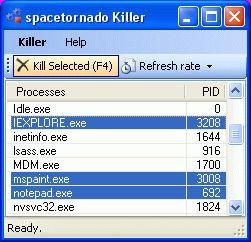 Vorschau Spacetornado Killer - Bild 1