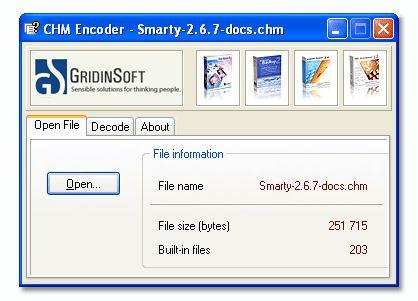 Vorschau CHM Encoder - Bild 1