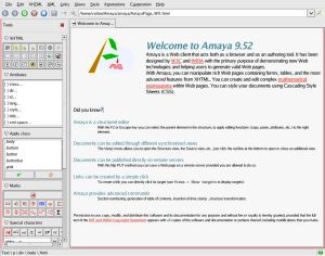 Vorschau Amaya for Windows - Bild 1