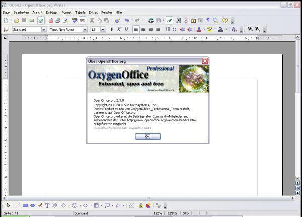 Vorschau OxygenOffice - Bild 1