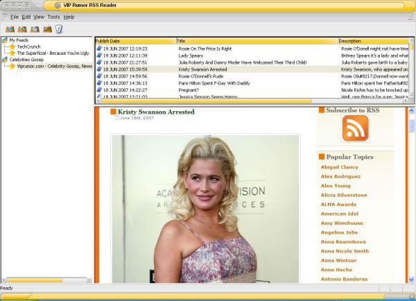 Vorschau VIP Rumor RSS Reader - Bild 1