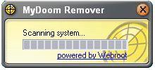 Vorschau Webroot MyDoom Remover - Bild 1