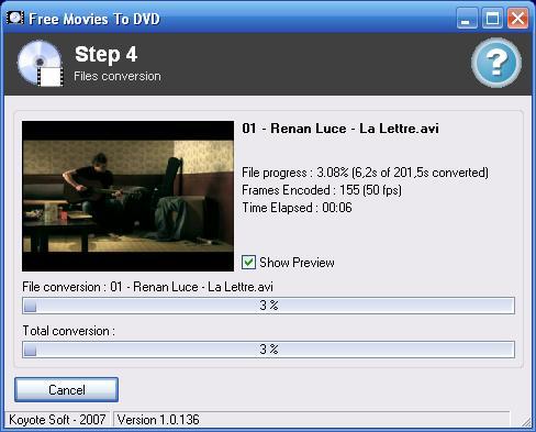 Vorschau Free Videos To DVD - Bild 1