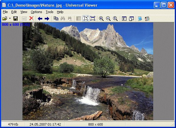 Vorschau Universal Viewer Free and Portable - Bild 1