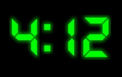 Vorschau XClock Digital Clock Screen Saver - Bild 1
