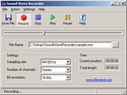 Vorschau Sound Wave Recorder - Bild 1