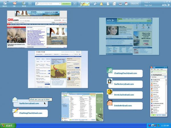 Vorschau AOL Desktop for Windows - Bild 1