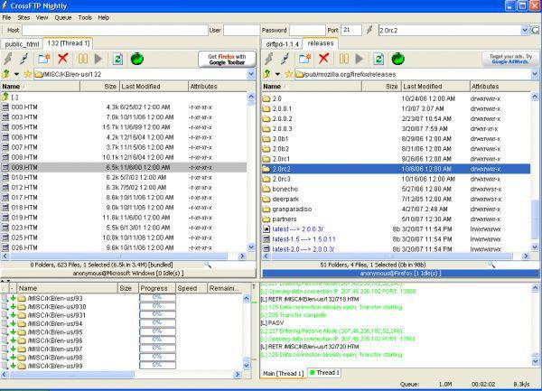 Vorschau CrossFTP and Portable - Bild 1