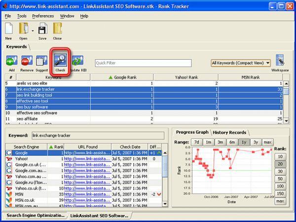 Vorschau Rank Tracker - Bild 1