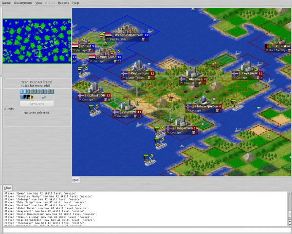 Vorschau Freeciv for Windows and Portable - Bild 1