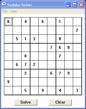 Vorschau Sudoku Solver - Bild 1