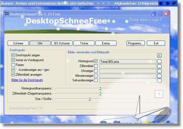 Vorschau DesktopSchneeFree - Bild 1