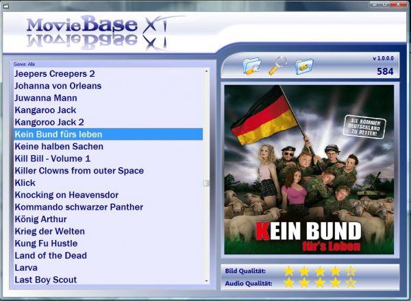 Vorschau MovieBaseXT - Bild 1
