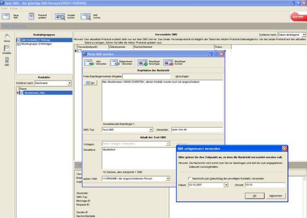 Vorschau Spar-SMS - Bild 1