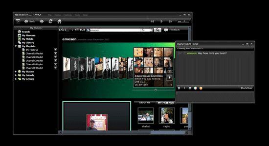 Vorschau Social fm Desktop - Bild 1