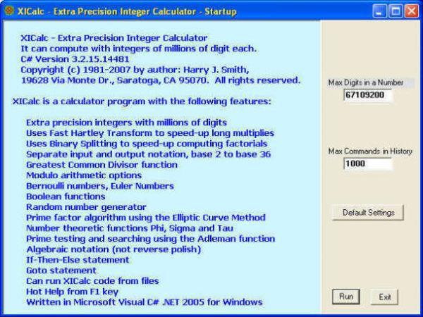 Vorschau XICalc - Bild 1