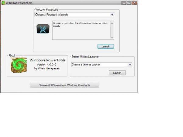 Vorschau Windows Powertools - Bild 1