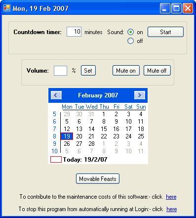 Vorschau ScreenDate Date on Taskbar - Bild 1