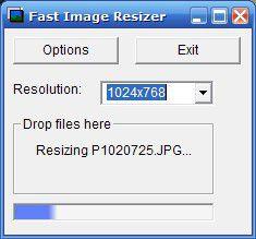 Vorschau adionSoft Fast Image Resizer - Bild 1
