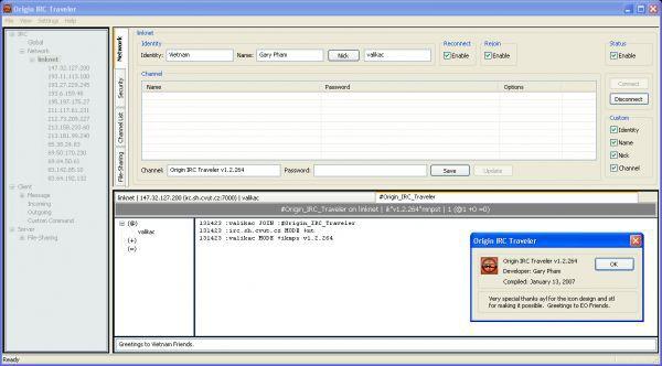 Vorschau Origin IRC Traveler - Bild 1