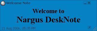Vorschau Nargus DeskNote - Bild 1