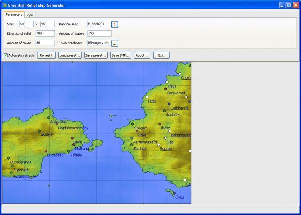 Vorschau Greenfish Relief Map Generator - Bild 1