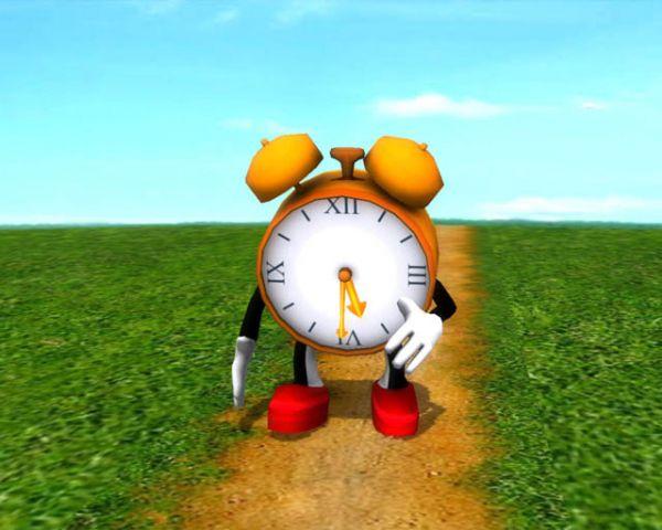 Vorschau Running Clock 3D Screensaver - Bild 1