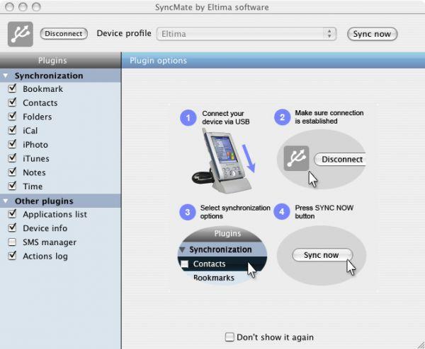 Vorschau SyncMate for MAC - Bild 1