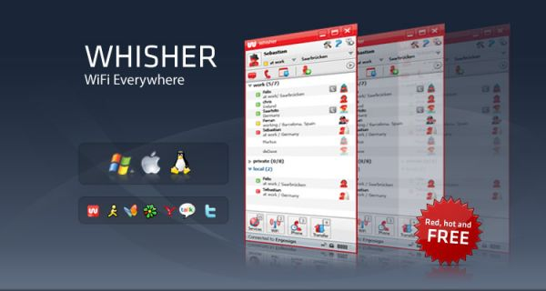 Vorschau Whisher for Windows - Bild 1