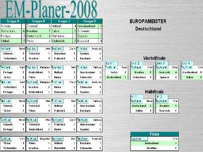 Vorschau EM-Planer 2008 - Bild 1