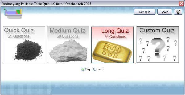 Vorschau Periodic Table Quiz - Bild 1
