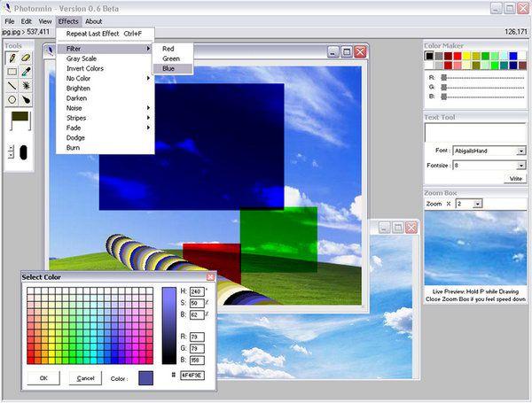 Vorschau Photormin Image Editor - Bild 1