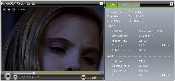 Vorschau Fortop FLV Player - Bild 1