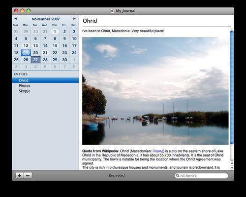 Vorschau Memoires for Mac OS X - Bild 1