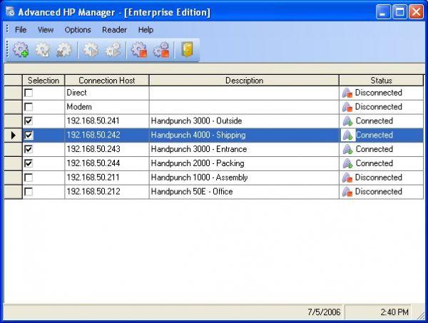 Vorschau Biometric Handpunch Manager Personal - Bild 1