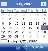 Vorschau QuickMonth Calendar - Bild 1
