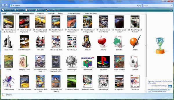 Vorschau Vista Game Explorer Editor -VGEE- - Bild 1