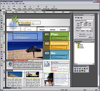 Vorschau NetObjects Fusion Essentials - Bild 1