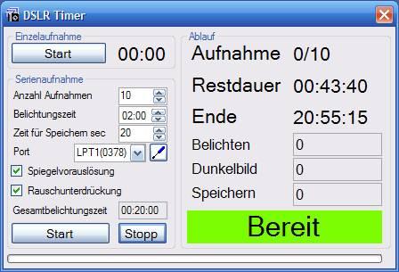 Vorschau DSLR Timer - Bild 1
