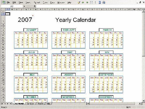 Vorschau Excel Calendar Creator - Bild 1